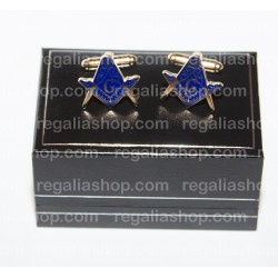 Masonic Cufflinks Square and Compass Design
